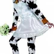 Koeienpak in bruidskleding