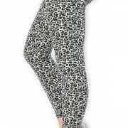 Dames legging met luipaard print
