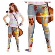 Spijkerjeans legging hippie