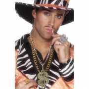 Gangster ketting met dollar teken
