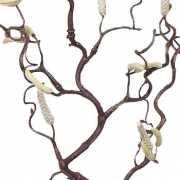 Tak decoratie Kronkelhazelaar paastak 66 cm