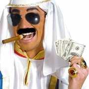 Arabieren setje met bril, snor en sigaar
