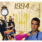 Hits uit 1994 verjaardagskaart
