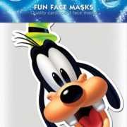 Goofy masker van karton