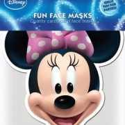 Minnie Mouse masker van karton