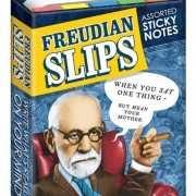 Post its met afbeelding van Freud