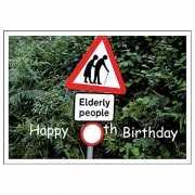 Alle leeftijden verjaardagskaart