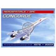Muurdecoratie Concorde vliegtuig
