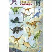Dinosaurus stickervelletje