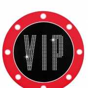 Hollywood versiering VIP bord 40 cm