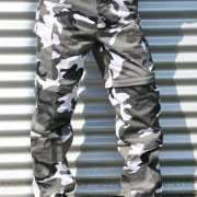 Afritsbare camouflage broek urban