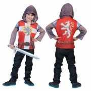 Kinder shirt met 3D ridder opdruk