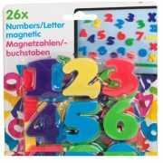 Magnetische gekleurde cijfers
