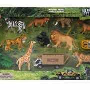 Speelgoed setje  jungle dieren