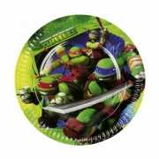 Kinderpartijtje Ninja Turtles thema bordjes