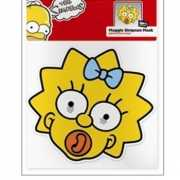 Maggie Simpson karton masker