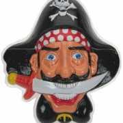 Piraat muur decoratie 36 x 45 cm
