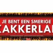 SD sticker Je bent een smerige kakkerlak