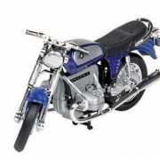 Blauwe BMW oldtimer motor