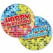 Party bordjes Happy Birthday 18 cm