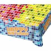 Tafelkleed birthday blocks 130x80 cm