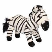 Knuffeldieren zebra 18 cm