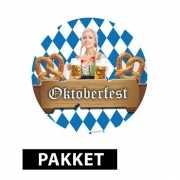 Voordeel pakket Oktoberfest decoratie
