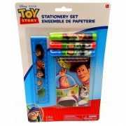 Toy Story kladblokje, stiften en liniaal