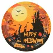 Happy Halloween bordjes 18 cm