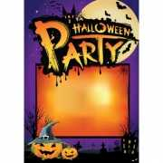 Zelf in te vullen Halloween poster
