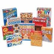 Supermarkt speel boodschappen doosjes