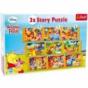 Winnie de Poeh puzzels 9 in 1