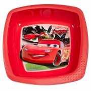 Rode Cars schaaltjes van plastic 16 cm