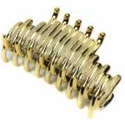 Haardecoratie klem goud met glitter