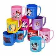 Lichtroze Disney Princess mok van kunststof