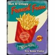Nostalgisch bord French Fries
