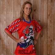Hollandse leeuw T shirt v hals