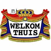 Welkom thuis bord