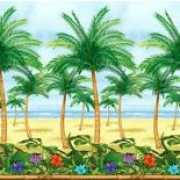 Palmbomen wand decoratie rol 12m