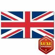 Engelse vlag luxe kwaliteit