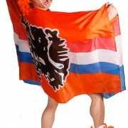 Oranje leeuw poncho
