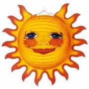 Grote lampion van een zon 38 cm