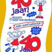 Wc papier voor vrouw 40 jaar