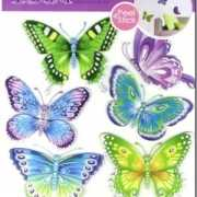Decoratie stickers vlinders