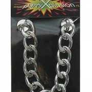 Zilveren gangster armbanden
