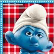 Smurfen theme servetten