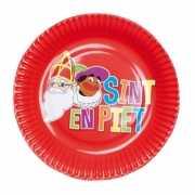 Sinterklaas feest bordjes