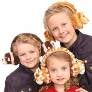 Leeuw oorwarmers voor kinderen