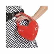 Hartvormig handtasje rode kleur
