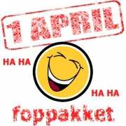 1 april fopartikelen kantoor pakket